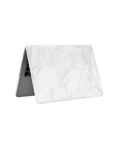 "Mcstorey MacBook Retina A1502 A1425 13"" 13.3"" Kılıf Sert Kapak Koruma Hard Incase Mermer Renkli"